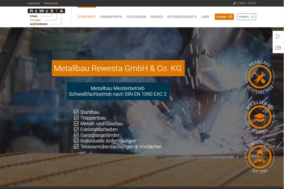 Metallbau Rewesta GmbH & Co. KG