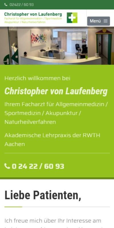 Praxis f. Allgemeinmedizin Christopher von Laufenberg